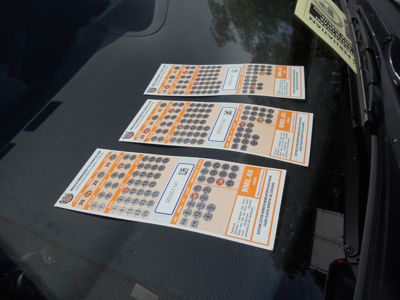 Coupon-Parking-Display